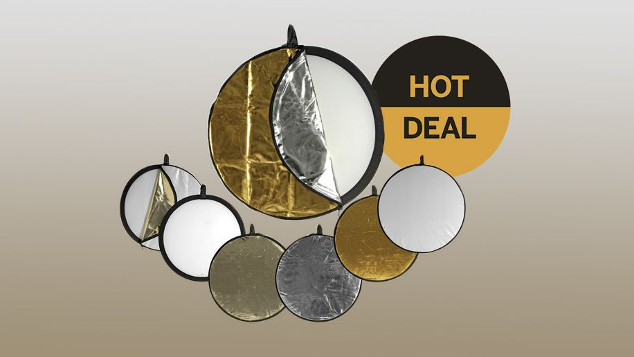 Save over 55% on this 5-in-1 reflector