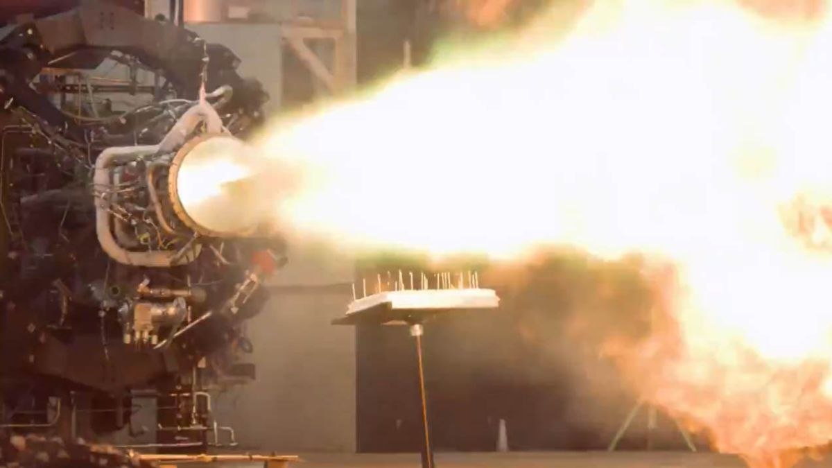 Firefly Aerospace uses rocket engine to light birthday candles in epic cake video
