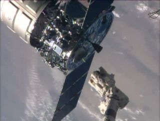 Cygnus Spacecraft Released from ISS