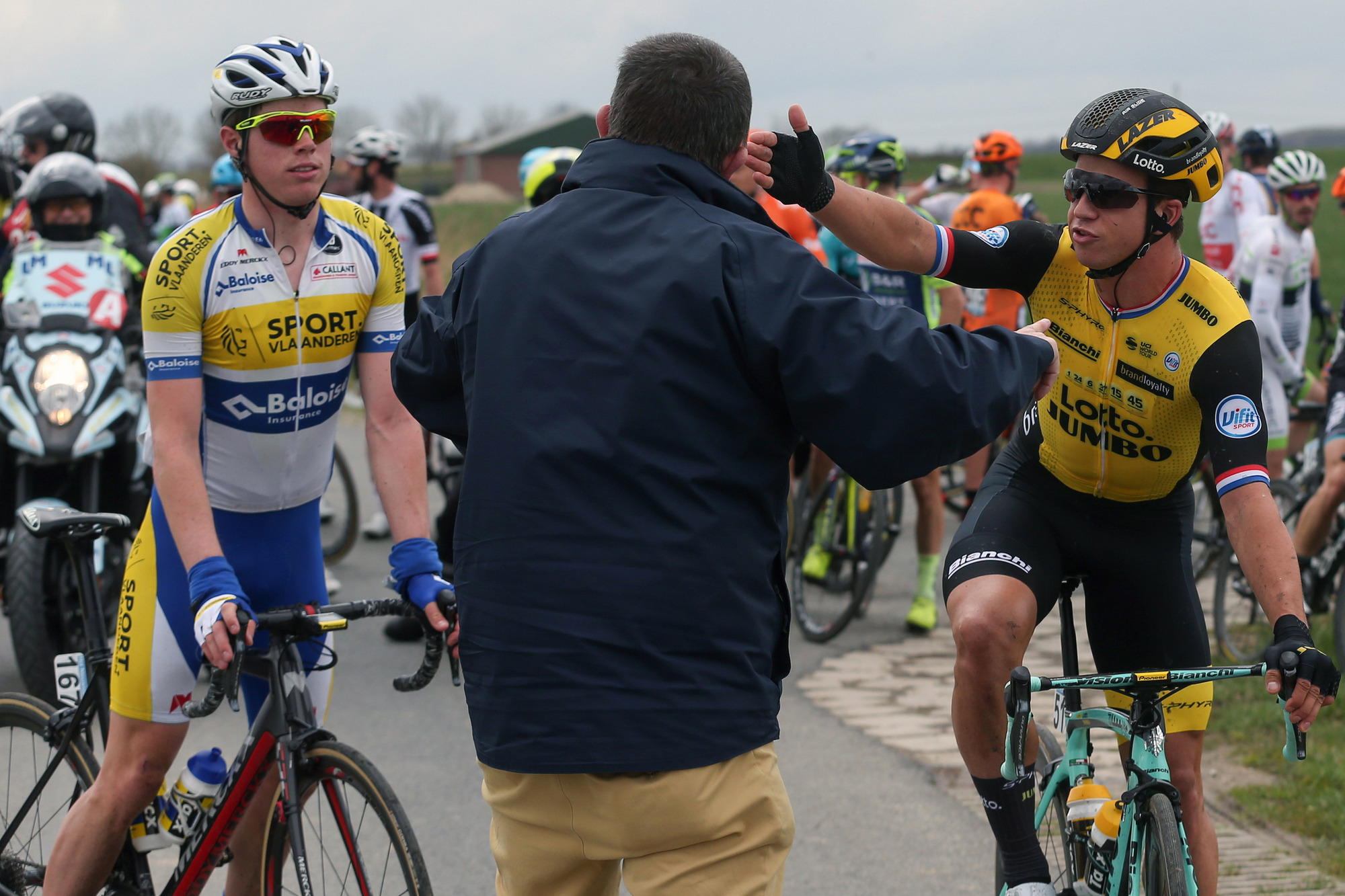 Groenewegen: They should have disqualified the first group