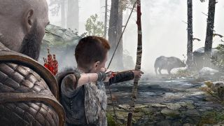 Hunting in God of War