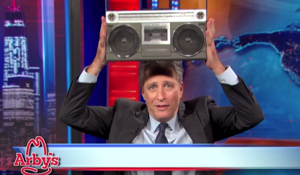 Arby S Funny: Watch Arby's Thank Jon Stewart For Making Fun Of Them For