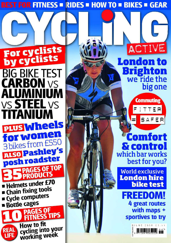 Cycling Active June 2010 issue cover