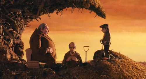 Fantastic Mr Fox - Michael Gambon's mean Mr Bean leads the trio of villainous farmers in Wes Anderson's stop-motion animation version of Roald Dahl's classic children's tale