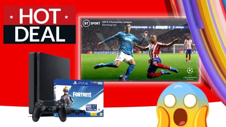 Fortnite PS4 gaming deals Virgin Media