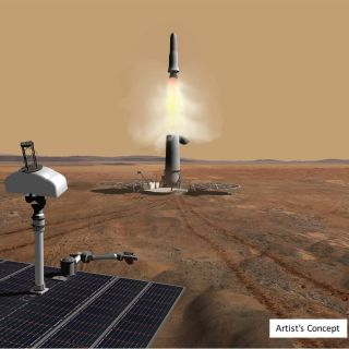 Mars Ascent Vehicle art