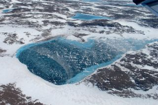 greenland images, NASA IceBridge campaign, meltwater ponds, what Greenland looks like, polar research, earth, Greenland ice melt