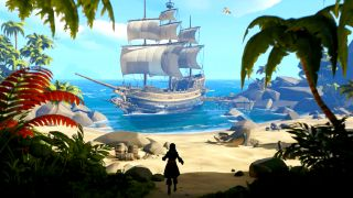 A peaceful scene in Sea of Thieves - no Kraken spoilers until you read the article!