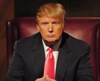 """Donald Trump in the reality TV show """"The Apprentice."""""""