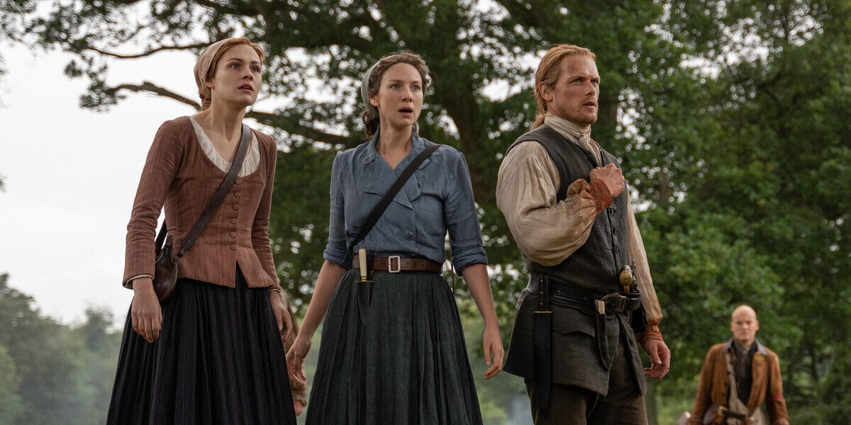 outlander season 5 brianna claire jamie shocked starz ballad of roger mac