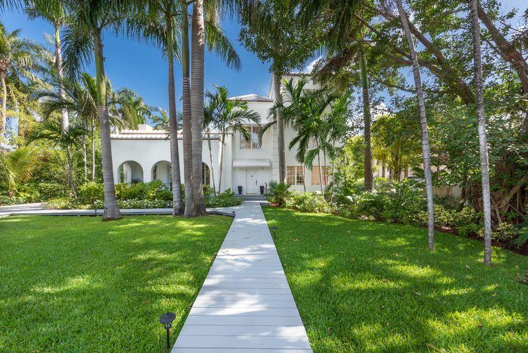 Exterior of Al Capone's house in Miami