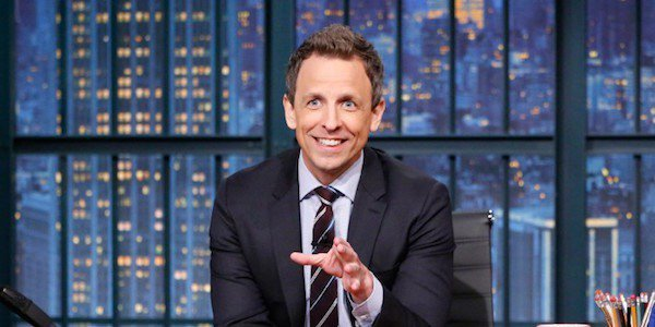 Seth Meyers, current host of Late Night on NBC