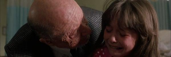 Halloween V: The Revenge of Michael Myers Donald Pleasence Danielle Harris Loomis comforts Jamie