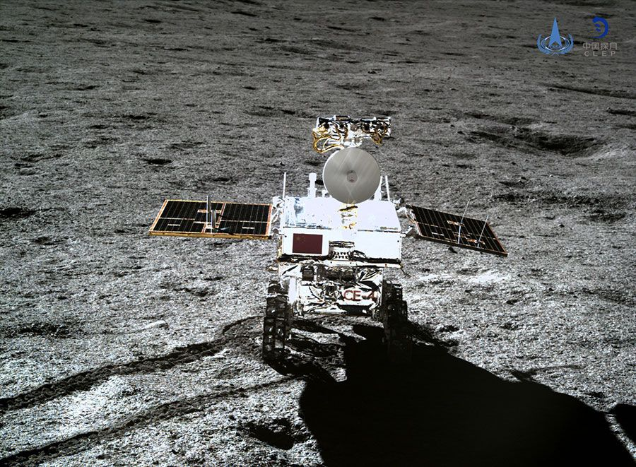 Chinese moon rover peers beneath surface of mysterious lunar far side