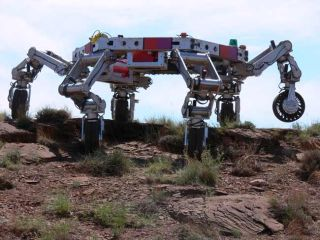 Robotic Lunar Base With Legs Changes Everything
