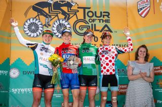 The final jersey winners at the 2018 Tour of the Gila