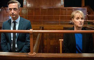Coronation Street star Sally Dynevor on Sally facing jail: She'd make an annoying cellmate!