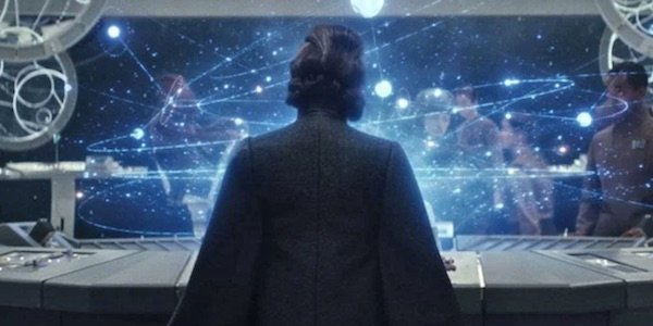 Leia's back from The Last Jedi