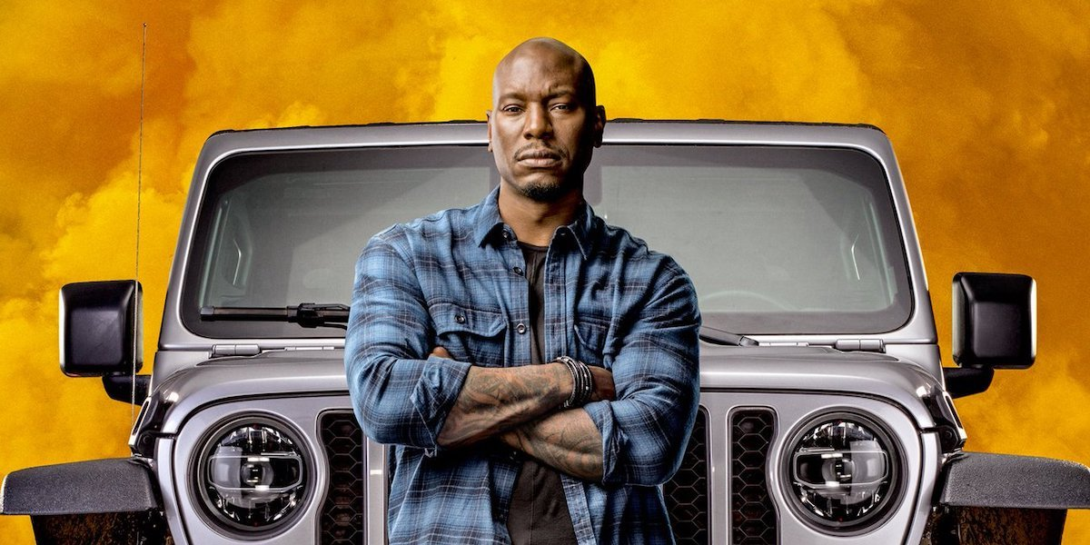 Tyrese Gibson in F9 poster