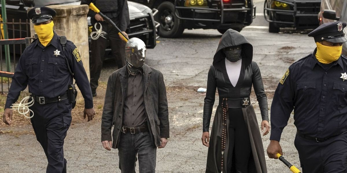 The cast of Watchmen (2019)