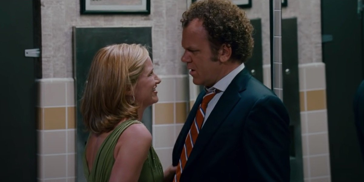 Kathryn Hahn and John C. Reilly in Step Brothers