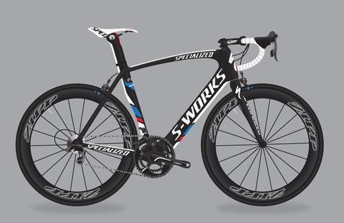 Omega Pharma Quick Step Specialized Venge bike
