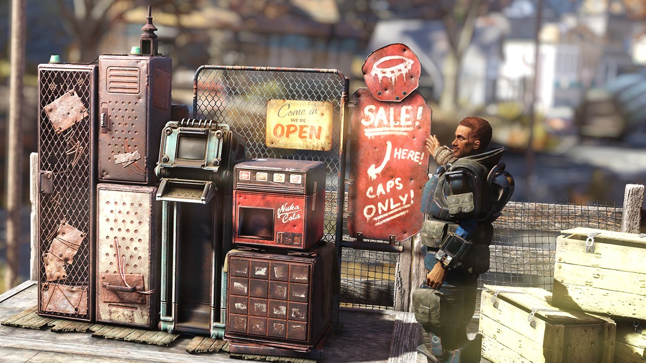 Fallout 76 has a new hot button issue: The 10% player trading tax