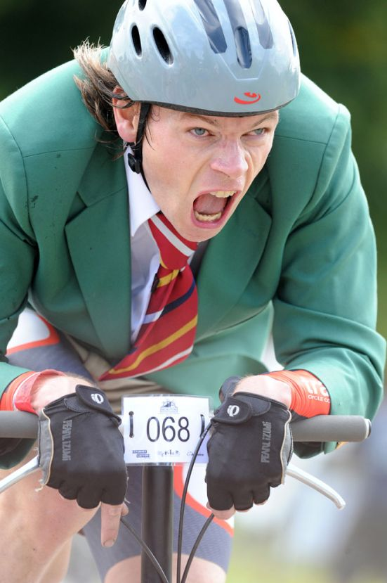 Michael Hutchinson, Brompton world champion, Bike Blenheim Palace 2011, August 21 2011