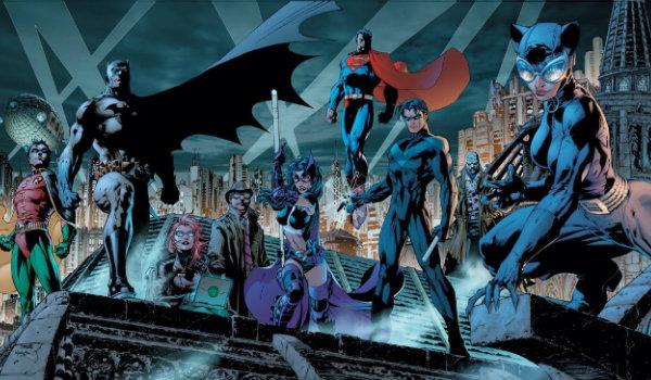 Batman Hush The Bat Family Nightwing