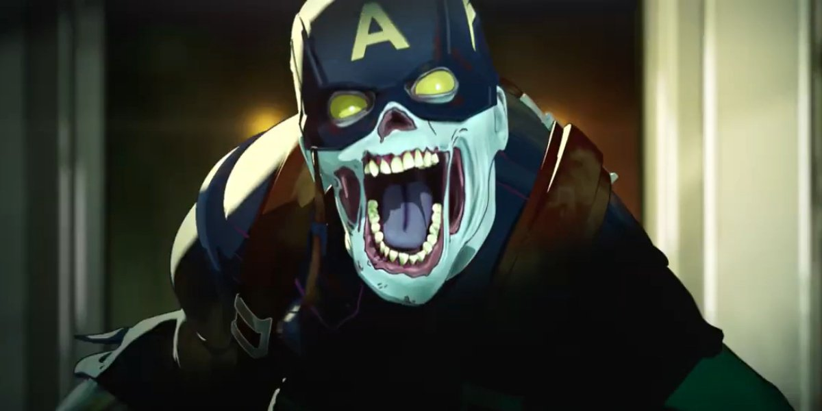 Zombie Captain America on What If...?