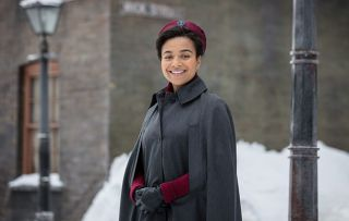 Meet Lucille - New Call the Midwife star Leonie Elliott: I want to do justice to the story of the real-life Commonwealth nurses who came to Britain