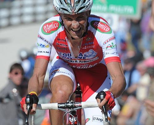Stefano Garzelli, Giro d'Italia 2010, stage 16