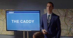Craig Parkinson como DI Matthew Dot Cottan en la tercera temporada de Line of Duty
