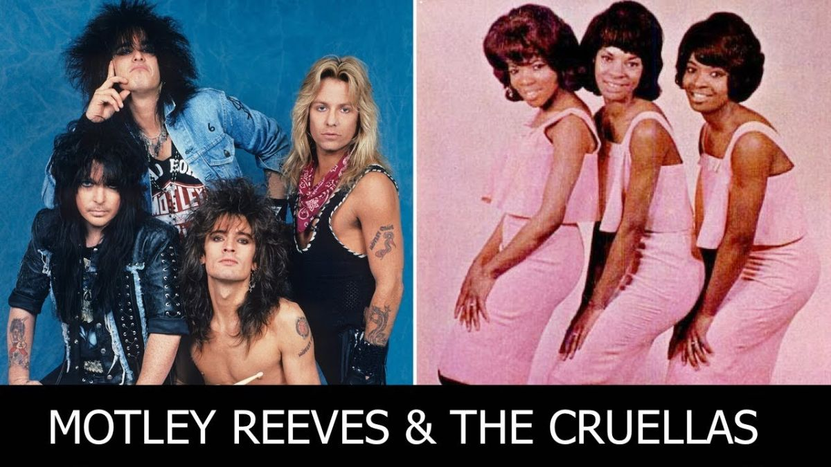 This Motley Crue vs Motown mash-up is the party anthem the world needs right now