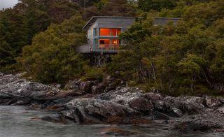 Timber frame home from Carpenter Oak
