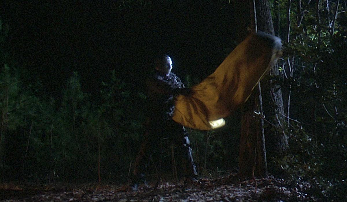 friday the 13th jason swinging sleeping bag