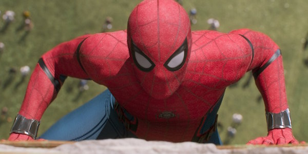Spider-Man on Washington Monument in Homecoming