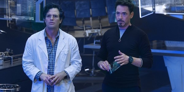 Mark Ruffalo and Robert Downey Jr. are Science Bros.