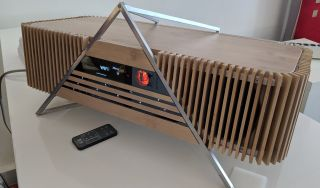 iFi Aurora is a bamboo and aluminium multi-room streamer