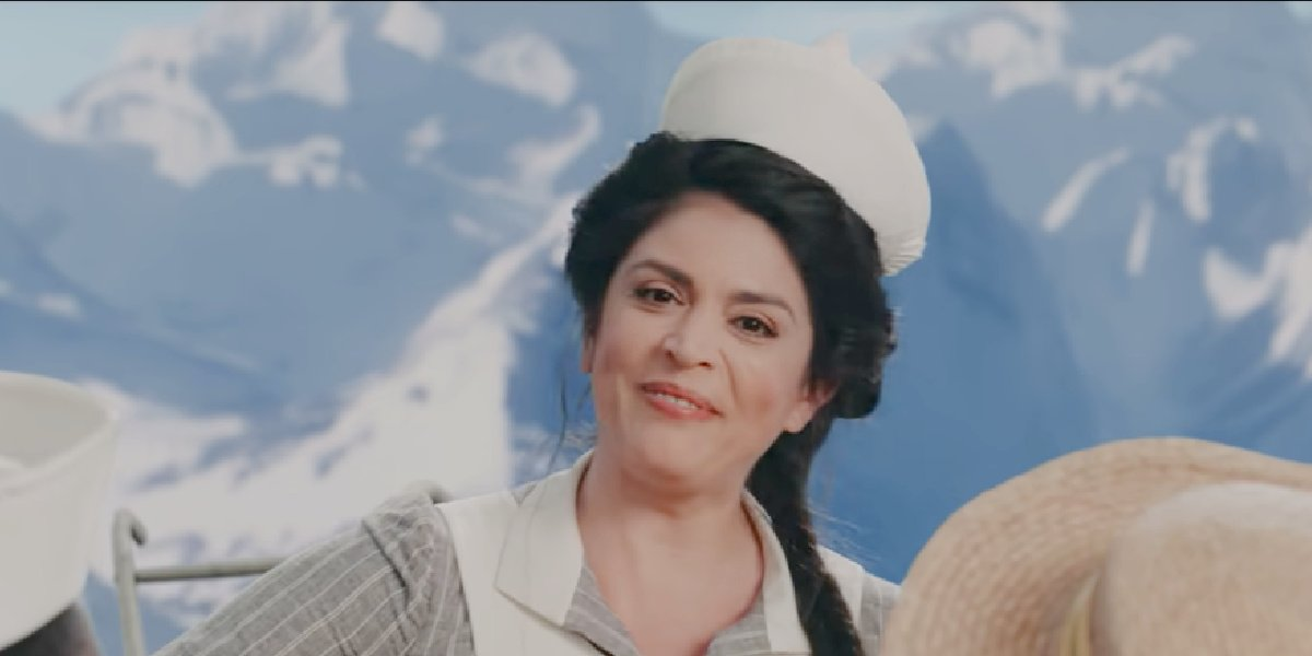 Cecily Strong in the trailer for Schmigadoon!