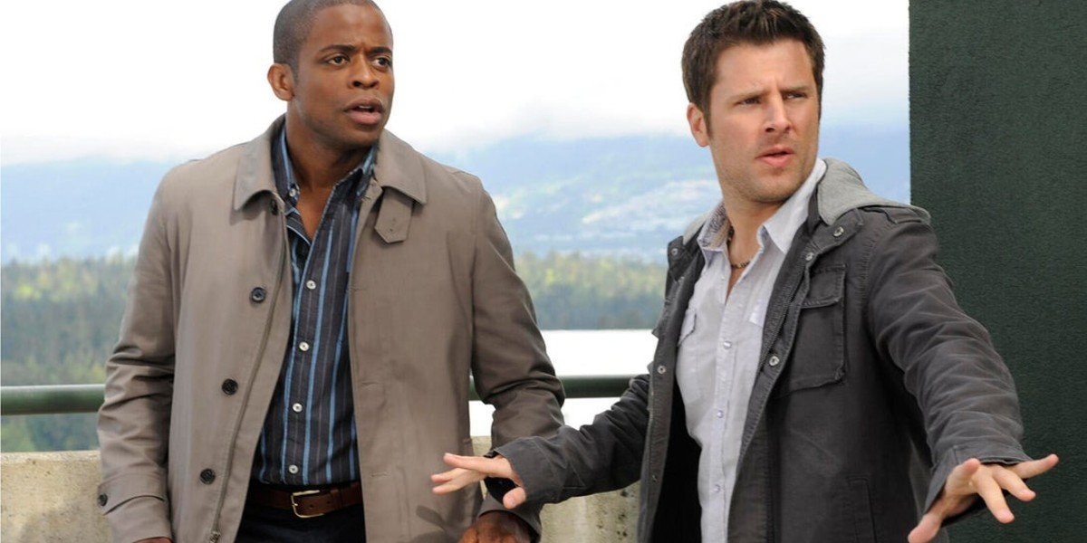 Dule Hill, James Roday Rodriguez - Psych