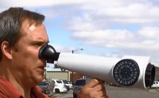 The Nasal Ranger can determine how strong an outdoor odor is. Excessive odors - from marijuana or other sources - can result in fines.