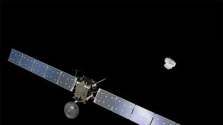Rosetta Arrives at Comet Illustration