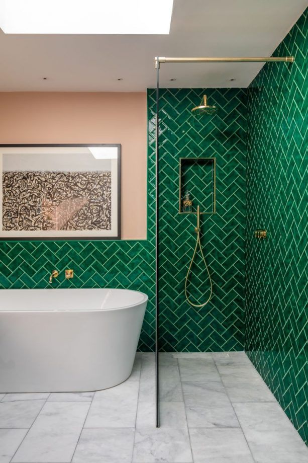 Get inspired for your bathroom wall with these ideas