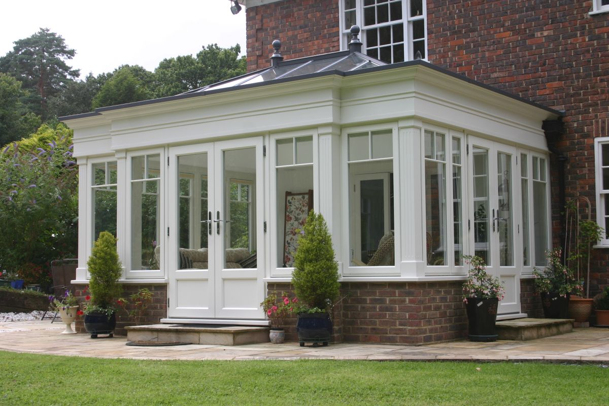 How to add a conservatory or sunroom real homes for Adding a conservatory