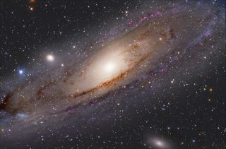 Andromeda Galaxy with M32 and M110