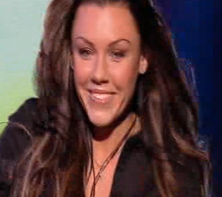 Here's another former band member - it's Michelle Heaton, who was in Liberty X