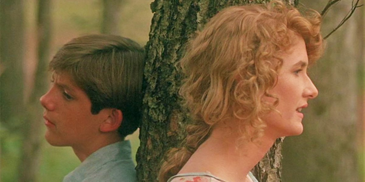 Lukas Haas and Laura Dern in Rambling Rose