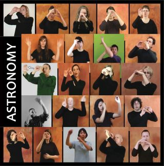 Astronomy sign language