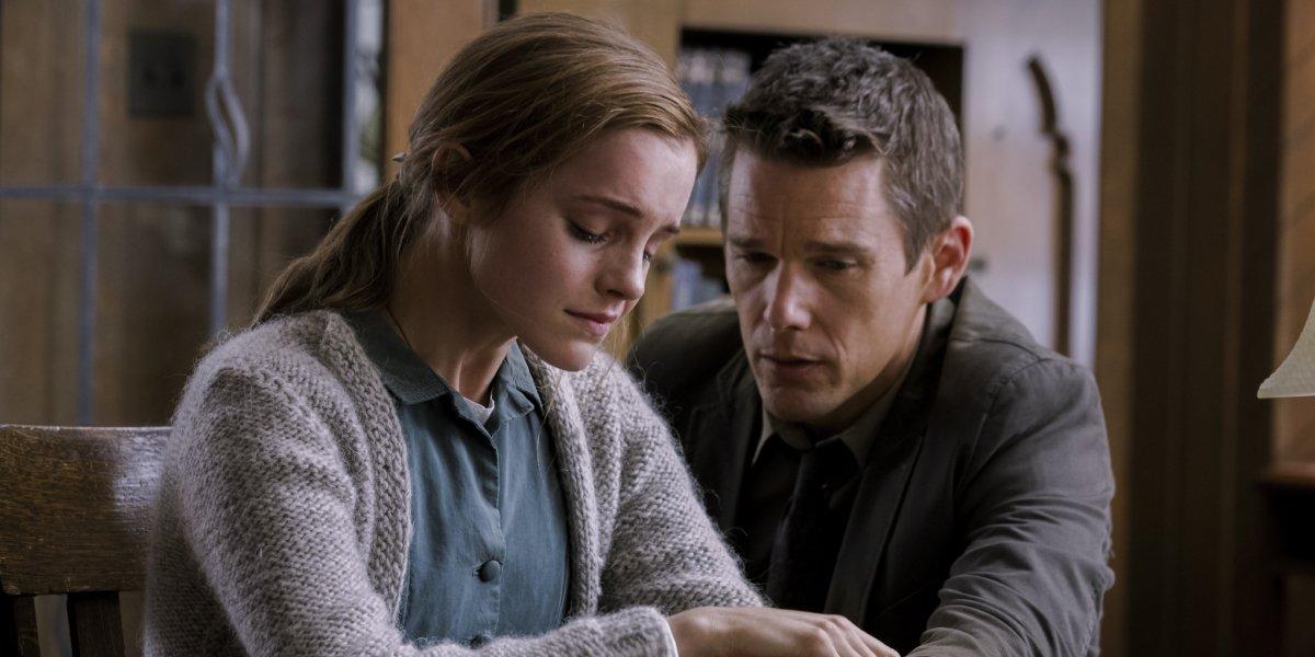 Emma Watson and Ethan Hawke in Regression